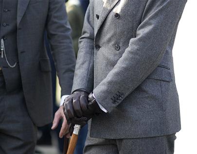 Ремешок трости для ходьбы Черный